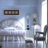 Спальня в блакитних тонах - правильне комбінування цвеіа