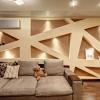 Дизайн стін у вітальні