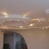 Подвійні гіпсокартонні потолки - фото красивих варіантів