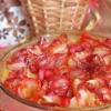 Яблучний пиріг з трояндами