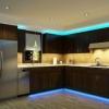 Як змонтувати світлодіодне підсвічування на кухню
