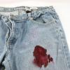 Як вивести пляму крові з джинсів?