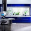 Капелька неба на кухні: поєднання синього кольору
