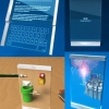 Концепт прозорого 3d телефону під назвою thru