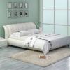 Шкіряні ліжка для спальні - стиль і багатство