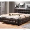 Ліжка з екокожі: види і особливості