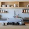 Кухня з відкритими полицями - 20 фото-ідей