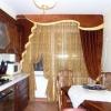 Ламбрекени для штор на кухню і їх фото: красиво і елегантно