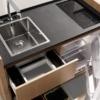 Міні кухня в будинку: максимально корисна конструкція
