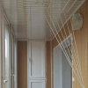 Натяжні стелі на балконі