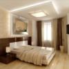 Натяжні стелі в спальні - види і особливості