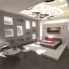 Оформлення стелі в спальні: відображення затишку