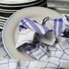 Відбілювання кухонних рушників з рослинним маслом