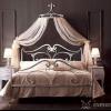 Полог над ліжком в спальні
