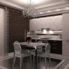 Практична розкіш в стилі арт-деко для кухні
