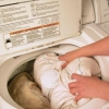 Правильна прання подушки пух перо