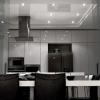 Застосовуємо натяжні стелі на кухні