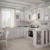 Привабливе покриття кухні білий глянець - мрія господинь