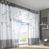 Штори з органзи - легка вуаль для вікон