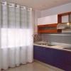 Штори на люверсах для кухні фото