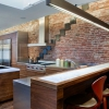 Створення і оформлення кухні в стилі лофт, фото