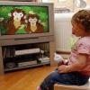 Телевізор і малюк