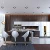 Точкові світильники на натяжній стелі - схеми і приклади використання
