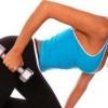 Вправи для трицепса з гантелями для жінок