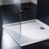 Установка акрилового піддону для душової кабіни