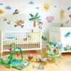 Варіанти обробки дитячої кімнати
