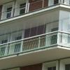 Зведення балкона з полікарбонату