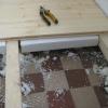 Виконання стяжки підлоги з пінопластом