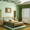 Зелена спальня - модна тенденція для сучасної людини