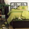 Зелений колір в інтер`єрі спальні