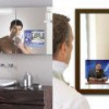 Дзеркало з вбудованим телевізором