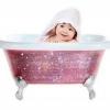 Дитяча ванна з кристалами swarovski